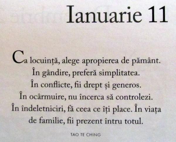 11 ianuarie 2015