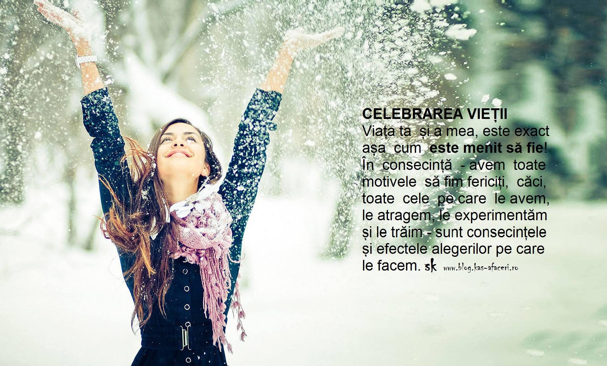 celebrarea vietii