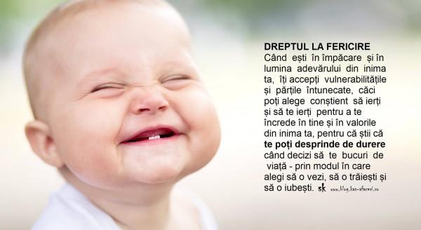 dreptul la fericire