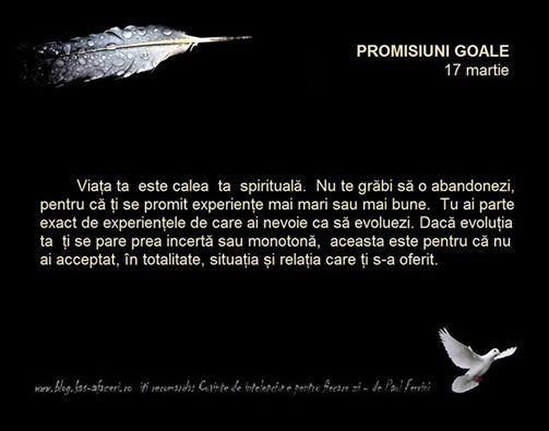 promisiuni goale