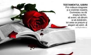 testamentul iubirii