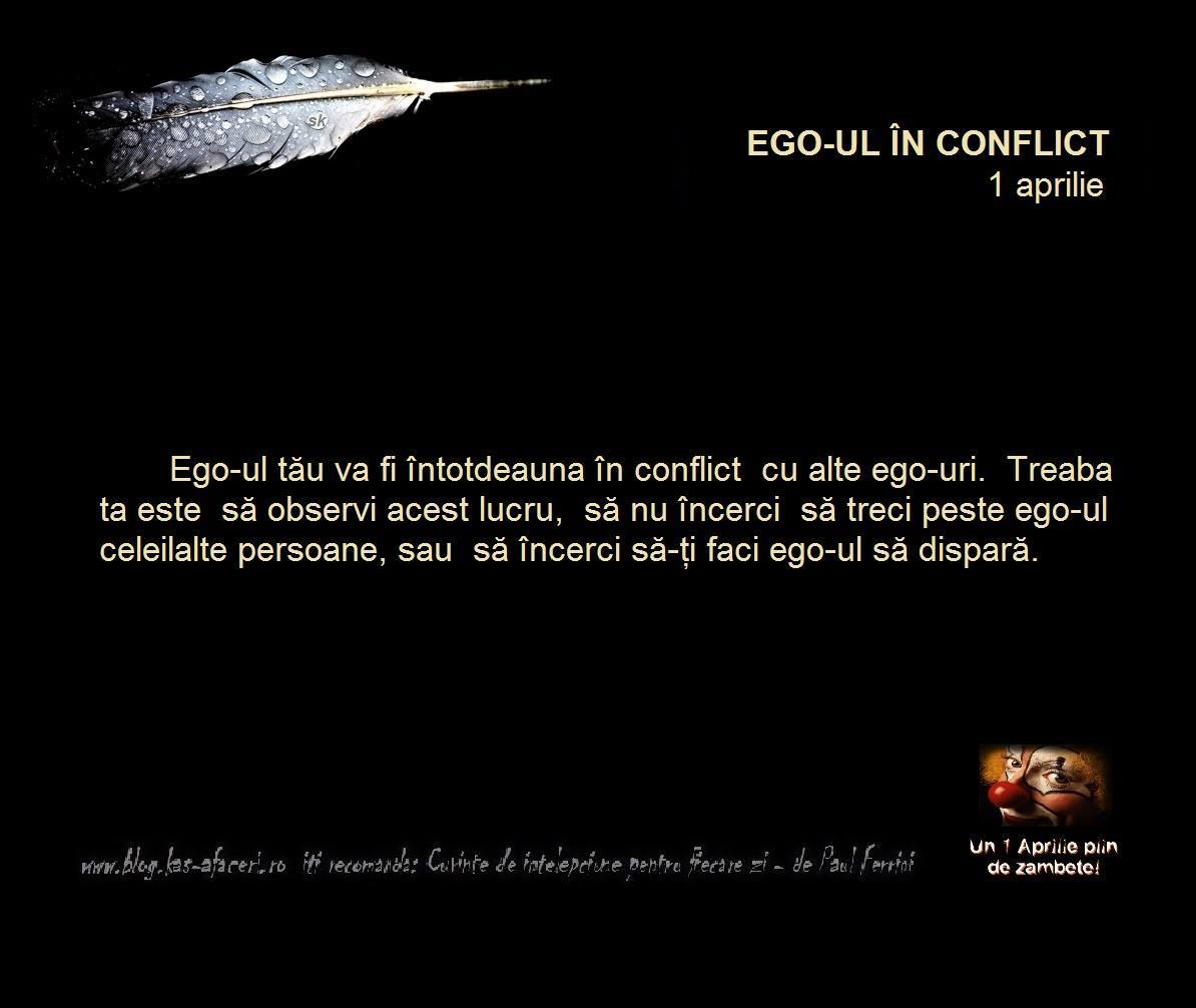ego ul in conflict