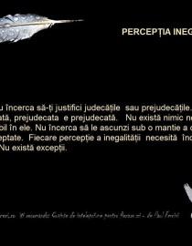 perceptia inegalitatii