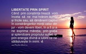 libertate prin spirit