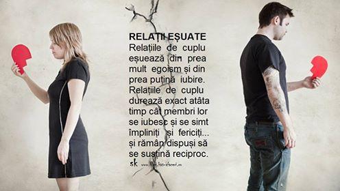 relatii esuate