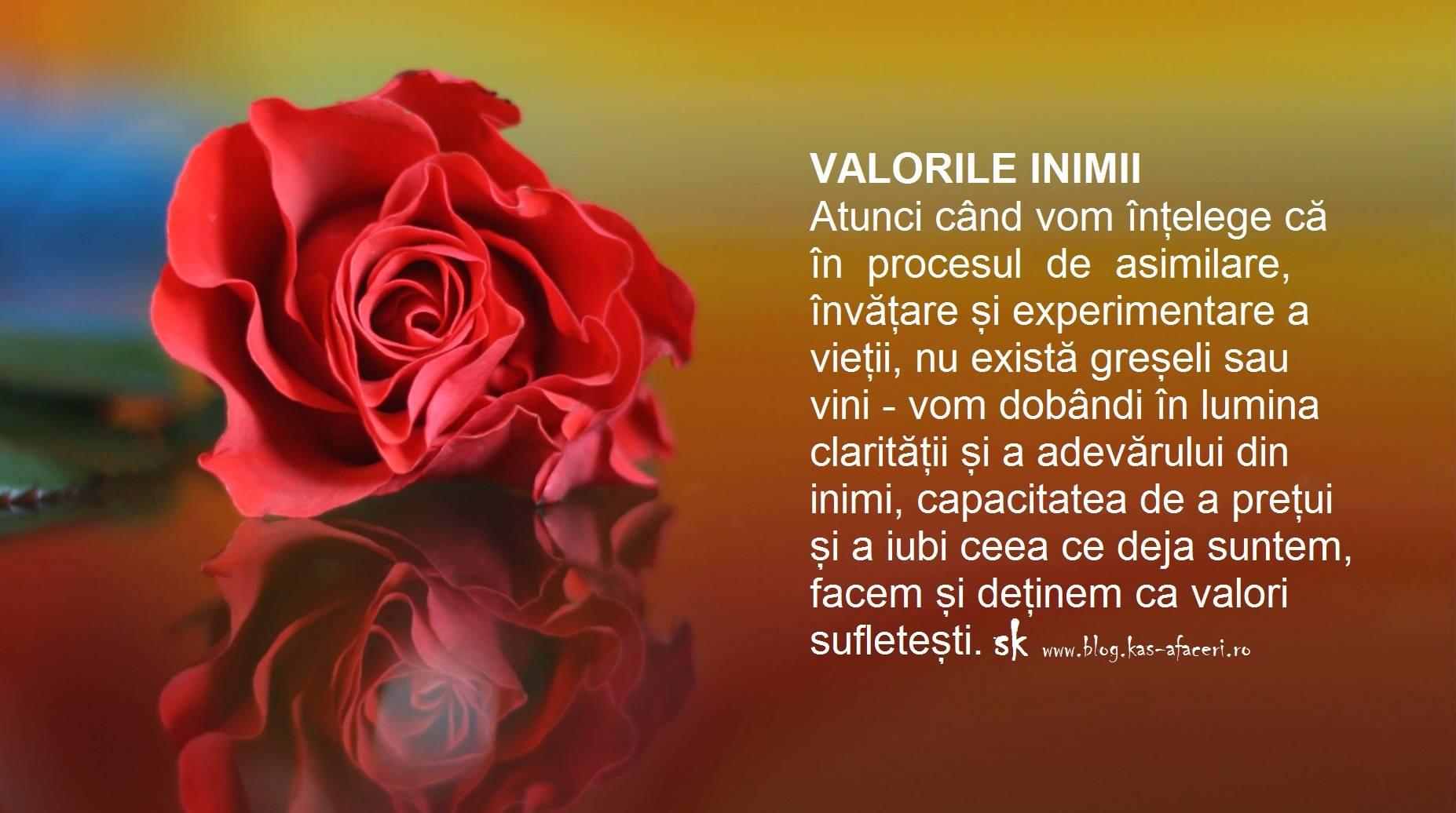 valorile inimii