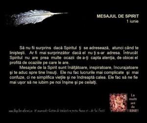 mesajul de spirit