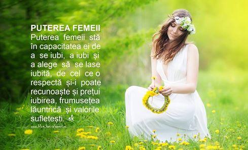puterea femeii