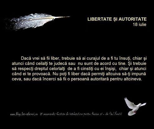 libertate si autoritate
