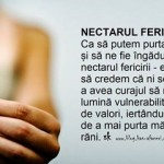 NECTARUL FERICIRII