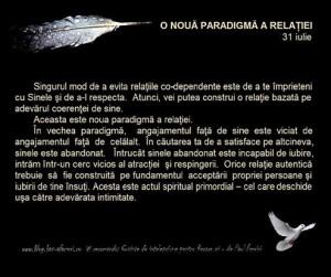 o noua paradigma a relatiei