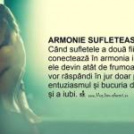 ARMONIE SUFLETEASCĂ